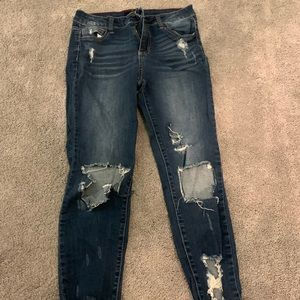 Ripped jeans! Super cute and NWOT